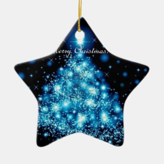 Christmas Ceramic Star Decoration