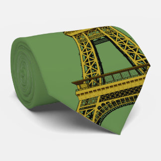 Christmas Decoration and Eiffel Tower Tie