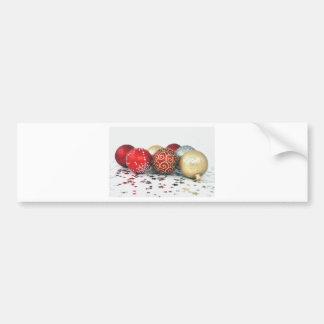 Christmas Decoration Design Bumper Stickers