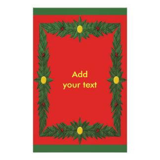 Christmas Decoration Flyer