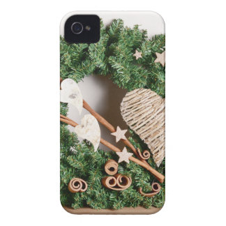Christmas decoration iPhone 4 cases
