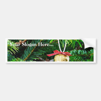 Christmas Decoration On The Tree Bumper Sticker