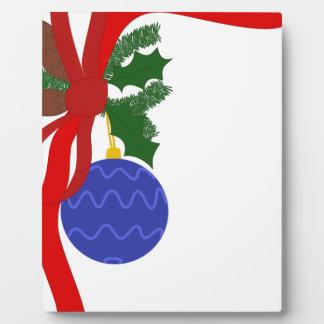 Christmas Decoration Plaque