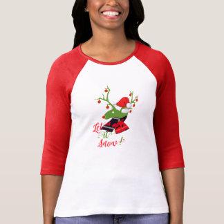 Christmas decoration Reindeer design t-shirt