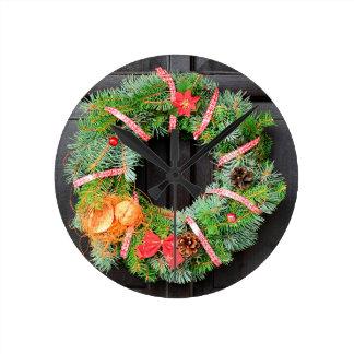 Christmas decoration wall clocks