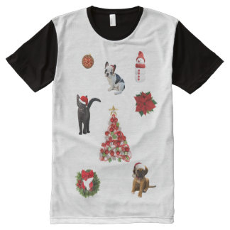 Christmas Decorations All-Over Print T-Shirt