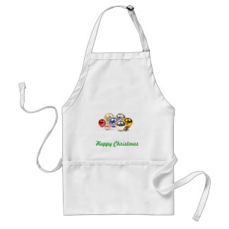 Christmas Decorations Adult Apron