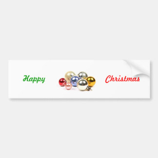 Christmas Decorations Bumper Sticker