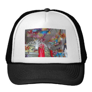 Christmas decorations trucker hat