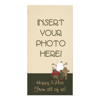 Christmas Decorations Customised Photo Card