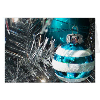 Christmas Decorations Note Card