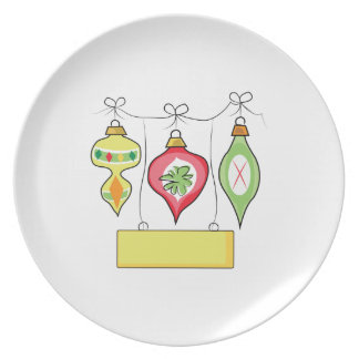 Christmas Decorations Plates