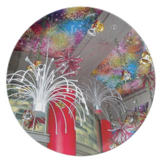 Christmas decorations party plate