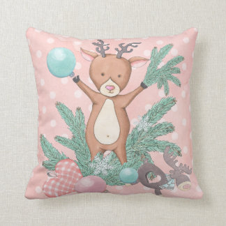 Christmas Deer Cushion