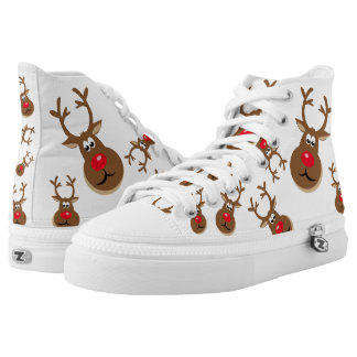 Christmas Deer High Tops