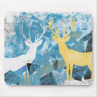 Christmas Deer. Mouse pad