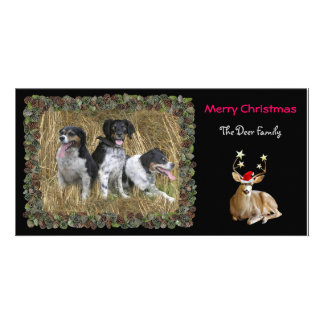 Christmas Deer Photo Card