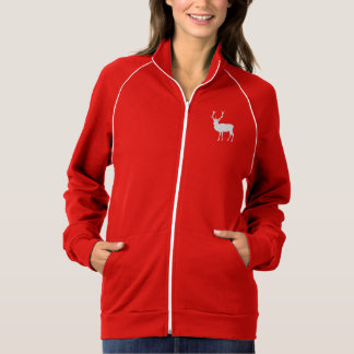 Christmas Deer Red and White Jacket