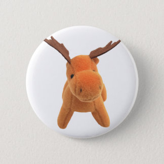 Christmas Deer transparent PNG 6 Cm Round Badge