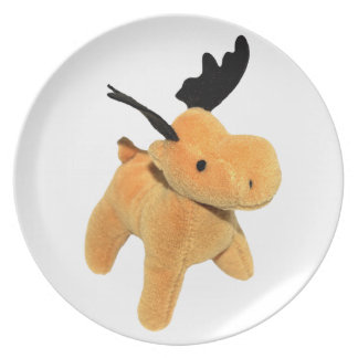 Christmas Deer transparent PNG Plate