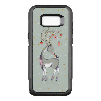 Christmas Deer With Ornaments OtterBox Commuter Samsung Galaxy S8+ Case