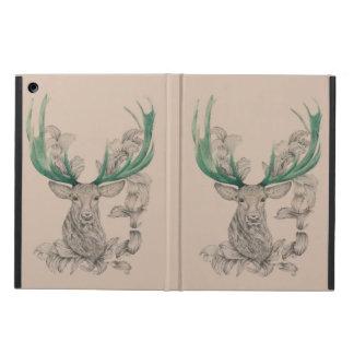 Christmas deer, Xmas, Holiday, New year 2015 iPad Air Covers