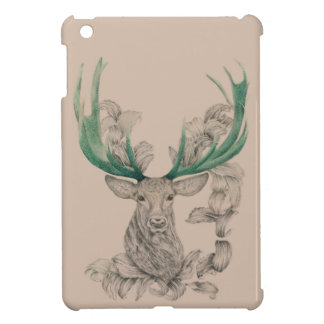 Christmas deer, Xmas, Holiday, New year 2015 Cover For The iPad Mini