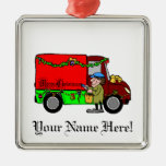 Christmas Delivery- Christmas Ornament