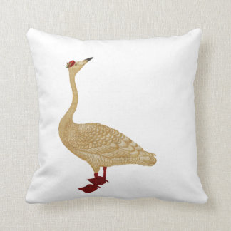 CHRISTMAS DELIVERY GOOSE CUSHION