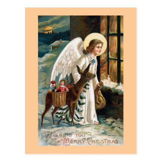 """""""Christmas Delivery"""" Postcard"""