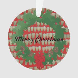 Christmas Dentist Orthodontist Dental Hygienist Ornament