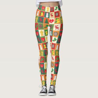 Christmas Design Illustrated Women's Leggings