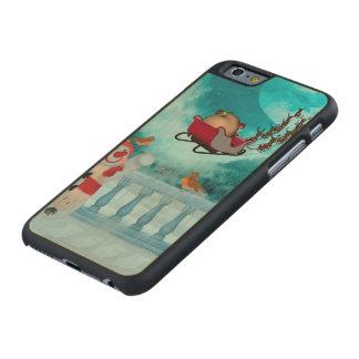 Christmas design, Santa Claus Carved Maple iPhone 6 Case