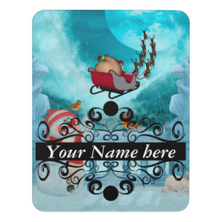 Christmas design, Santa Claus Door Sign