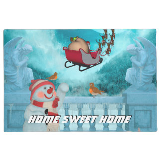 Christmas design, Santa Claus Doormat