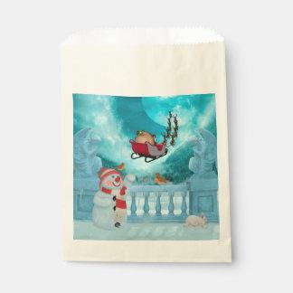 Christmas design, Santa Claus Favour Bag