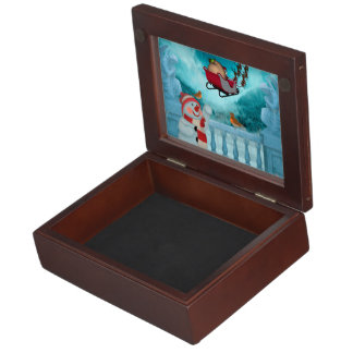 Christmas design, Santa Claus Keepsake Box
