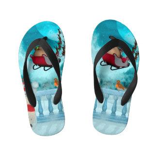 Christmas design, Santa Claus Kid's Thongs