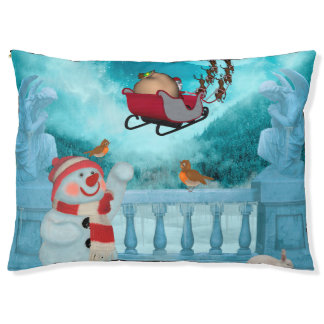 Christmas design, Santa Claus Pet Bed