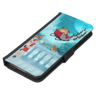 Christmas design, Santa Claus Samsung Galaxy S5 Wallet Case