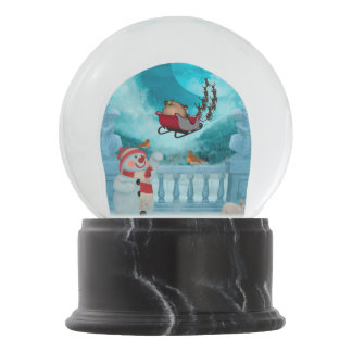 Christmas design, Santa Claus Snow Globe
