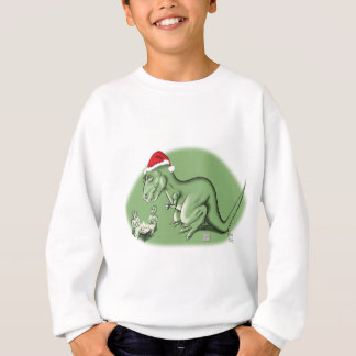 Christmas Dinosaur at the Manger Sweatshirt