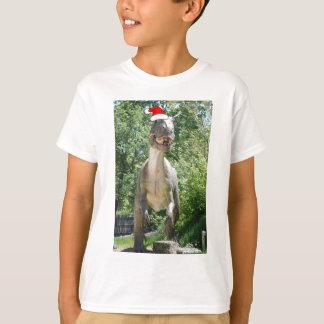 Christmas Dinosaur Humor T-Shirt