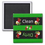 Christmas dishwasher magnet