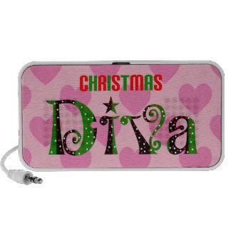 Christmas Diva PC Speakers