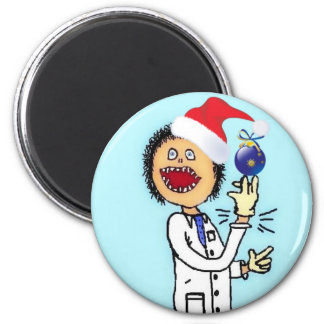 Christmas Doctor Magnet