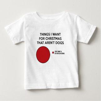 Christmas Dog Baby T-Shirt