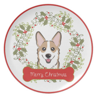 Christmas Dog Breed Collectible Plate