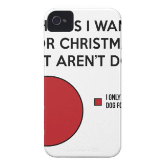 Christmas Dog iPhone 4 Case-Mate Case