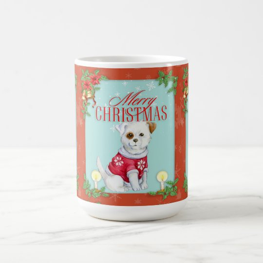 Christmas Dog Magic Mug